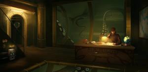 Nemo's office by Gaan
