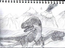 T Rex 2 by Blueflameskull489