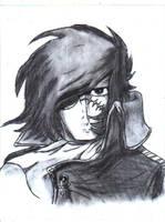 Captain Harlock by Blueflameskull489