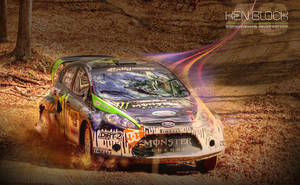 For the Win... Ken Block by featheredpixels