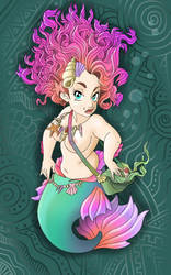 chubby mermaid by Big-Rex