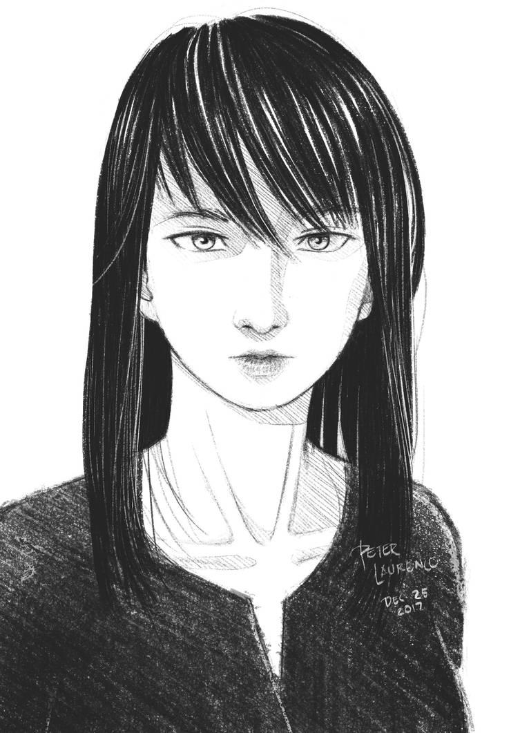 A Random Girl by peterlaurence