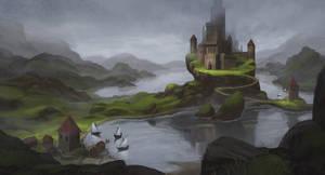 Northern Castle by arenirart