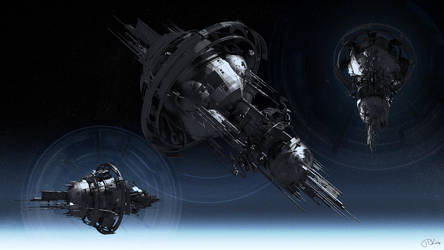 Terra Space Station HD 1080p by TKingArt