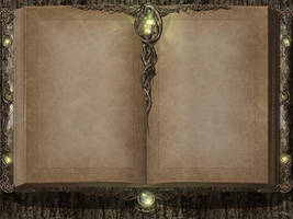 Elvinwood Tome by T.King by TKingArt