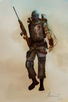 Steampunk Soldier - Incub by ikkake