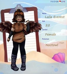 [PKMN-Cove] Laila Everest 2k17 by WynterArlene