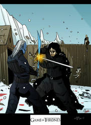 Jon Snow by AnubisGabriele