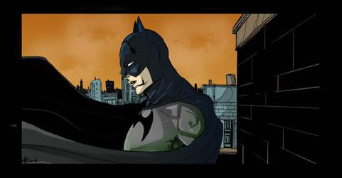 Batman by AnubisGabriele