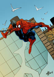 Spiderman by AnubisGabriele