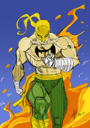 Iron Fist by AnubisGabriele