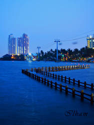 Blue Ancol by ilhaman