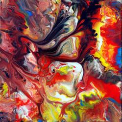 Acrylic Fluid Painting by Mark-Chadwick
