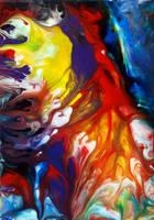 Acrylic Liquid Painting by Mark-Chadwick