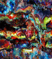 Abstract Fluid Acrylic Art by Mark-Chadwick
