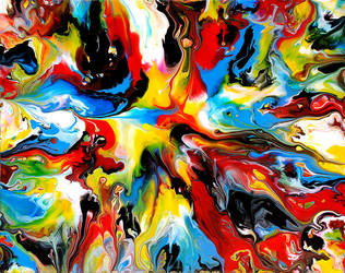 Fluid Painting 97 by Mark-Chadwick
