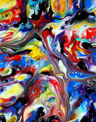 Fluid Painting 98 by Mark-Chadwick