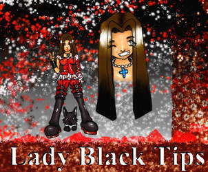 Lady Black Tips by solarfalcon