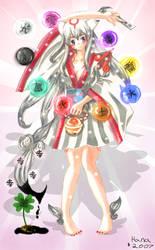Amaterasu Omikami by CelestialBrush