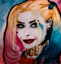 Suicide Squad Harley Quinn by vctoriabb2
