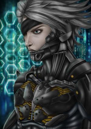 Metal Gear: Raiden by Frostbite07