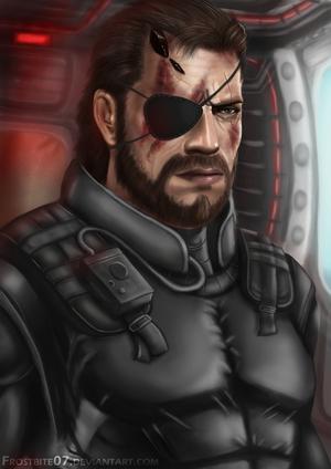 Metal Gear Solid: Big Boss by Frostbite07