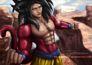 Goku Super Saiyan 4 by Frostbite07