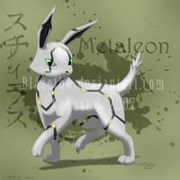 Metaleon :fan pokemon: THIS IS OLD. by BlazeTBW