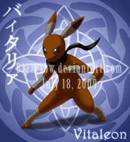 Vitaleon :fan pokemon: by BlazeTBW