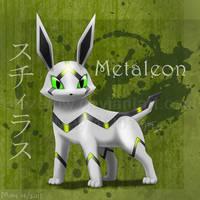 Metaleon v2.0 :Fan Pokemon: by BlazeTBW
