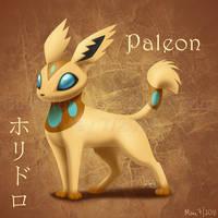 Paleon :Fan Pokemon: by BlazeTBW