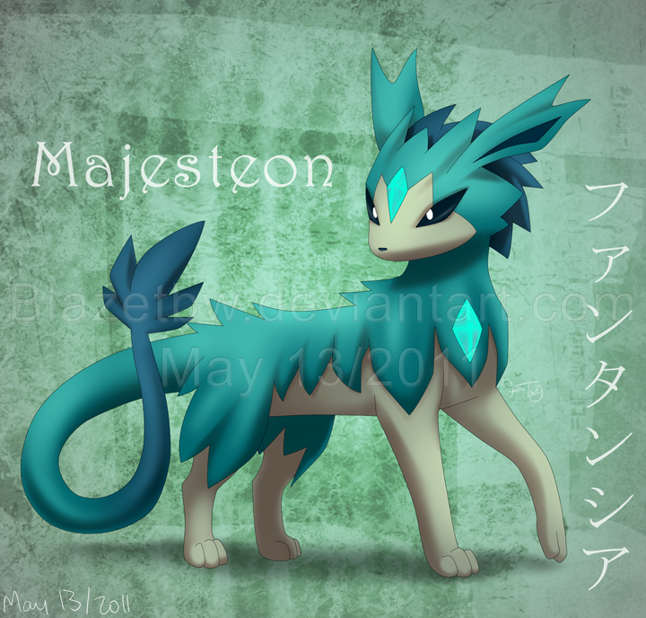 Majesteon :Fan Pokemon: by BlazeTBW