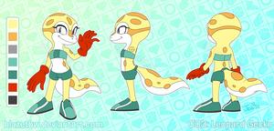 003: Leopard Gecko by BlazeTBW