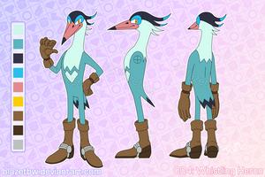004: Whistling Heron by BlazeTBW