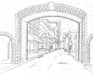 School Post - Perspective 3 by BlazeTBW