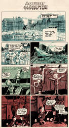 Lovecraft in Glocester pg 1 by Odori