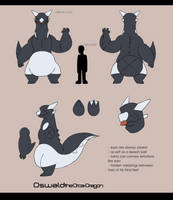Reference - Oswald the Orca-Dragon by RandomNutz