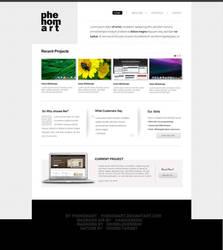 Simple Phenomart Portfolio by phenomart