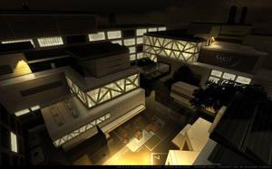 Deus Ex3 Concept art: Sarif by RDumont