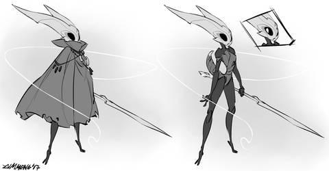 Hornet - Hollow Knight Fanart by Zummeng