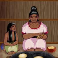 Dearest Grandmother by Youalahuan