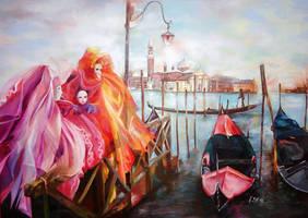Dream of Venice by YohannaKim