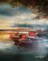 Fantastic view on the   beautiful lake by YohannaKim