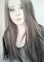 Sketch Portrait by YohannaKim