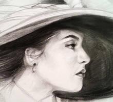 Beginning sketch by YohannaKim