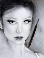 Shading a Sketch by YohannaKim