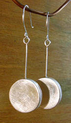 Silver Discs (Brushed) by N96D
