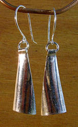 Triangular Earrings by N96D