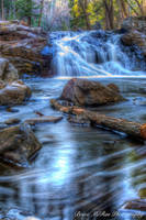 Chester Park Waterfall 2 by maDUECEgunner