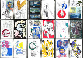 a few pages + sketchbook download link! by mobul
